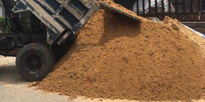 cát xây tô tường