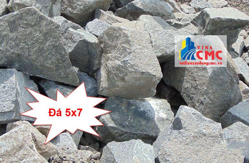 Đá 5x7 là loại đá cứng, chắc được sử dụng nhiều trong xây dựng