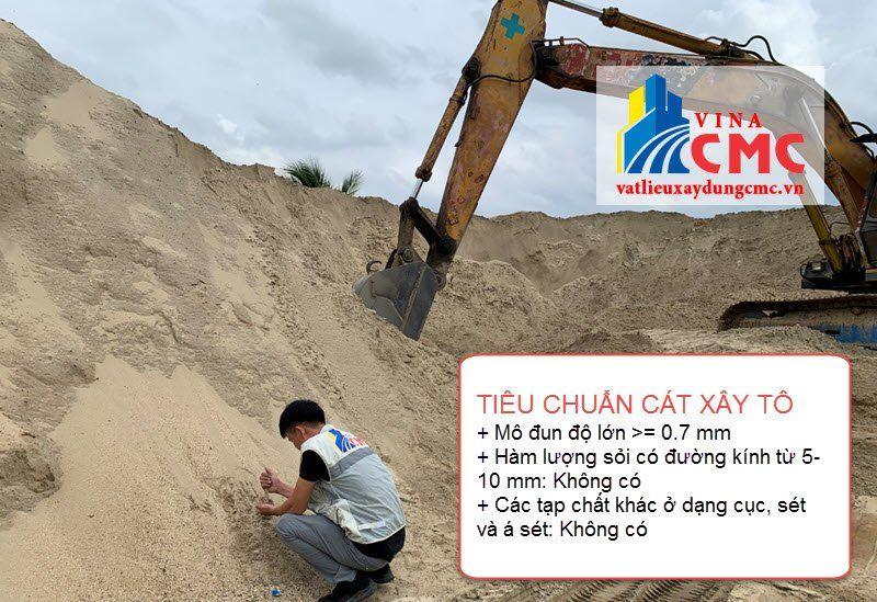Tiêu chuẩn cát xây tô