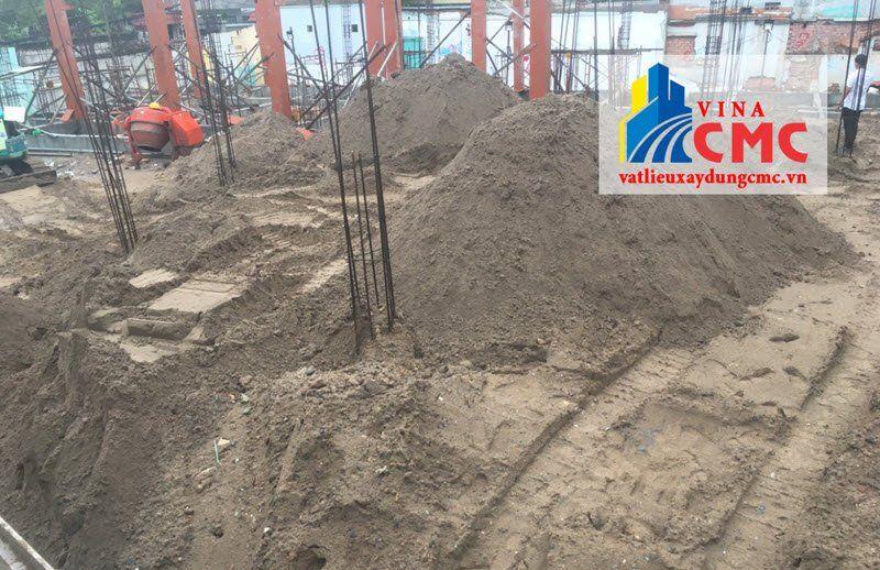 Yêu cầu kỹ thuật đối với cát san lấp
