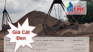 Báo giá cát đen mới nhất tại tphcm