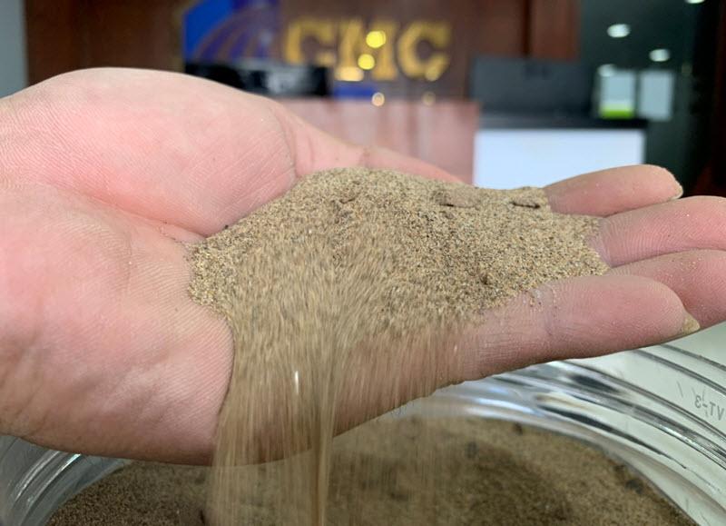 Kiểm tra xem cát có đạt tiêu chuẩn hay không