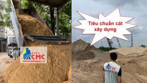 Tiêu chuẩn cát xây dựng mới nhất