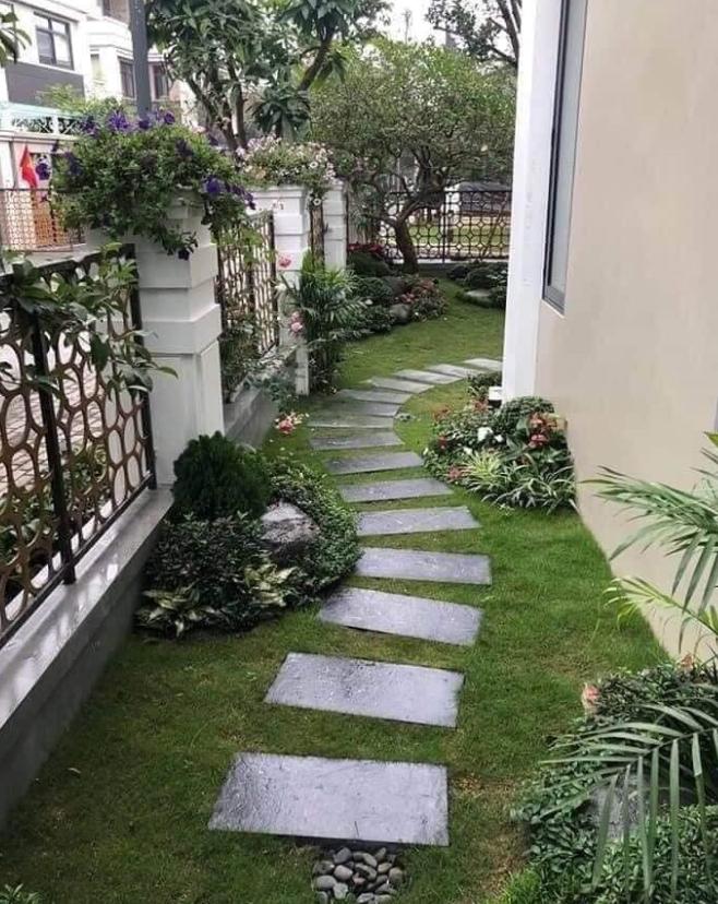 Đá rối lót sân vườn siêu đẹp
