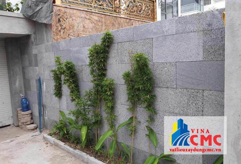 Ốp tường bằng sản phẩm đá rối tạo sự sang trọng cho ngôi nhà