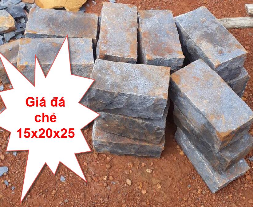 Giá đá chẻ 15x20x25