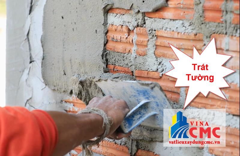 Trát tường là dùng vữa trát vào bề mặt tường