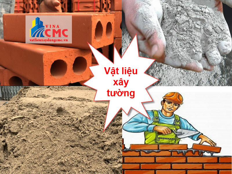 Trước khi xây tường cần tính toán khối lượng vật liệu cần thiết