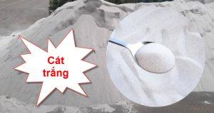 Giá cát trắng xây dựng