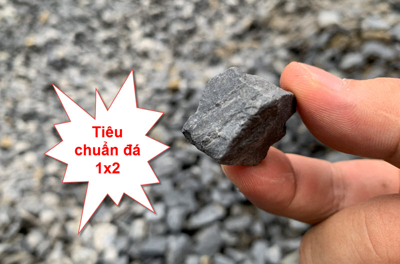 Tiêu chuẩn đá xây dựng 1x2