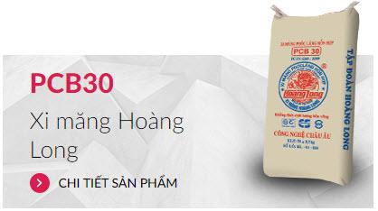 Xi măng PCB30 Hoàng Long