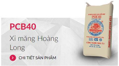 Xi măng PCB40 Hoàng Long