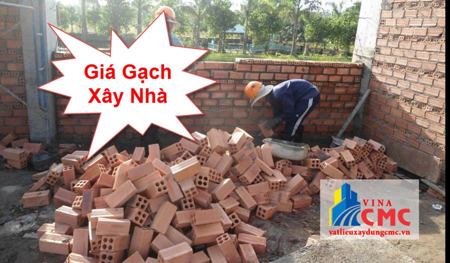 Báo giá gạch xây nhà hiện nay