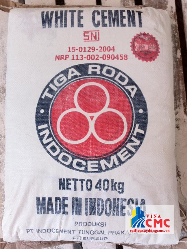 Xi măng trắng nhập khẩu từ Indonesia