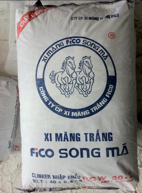 Xi măng trắng Song Mã