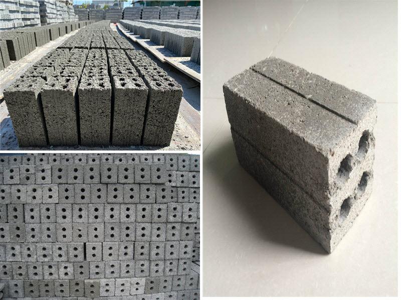 Gạch ba banh là loại gạch truyền thống được làm từ xỉ than kết hợp với vôi hoặc xi măng