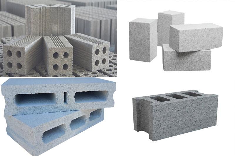 Gạch Block bê tông là loại gạch có nhiều kích thước khác nhau đáp ứng nhu cầu phong phú trong xây dựng