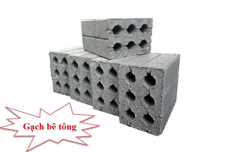 Gạch không nung còn được gọi là gạch bê tông, gạch block bê tông, gạch xi măng hay gạch bê tông cốt liệu,...