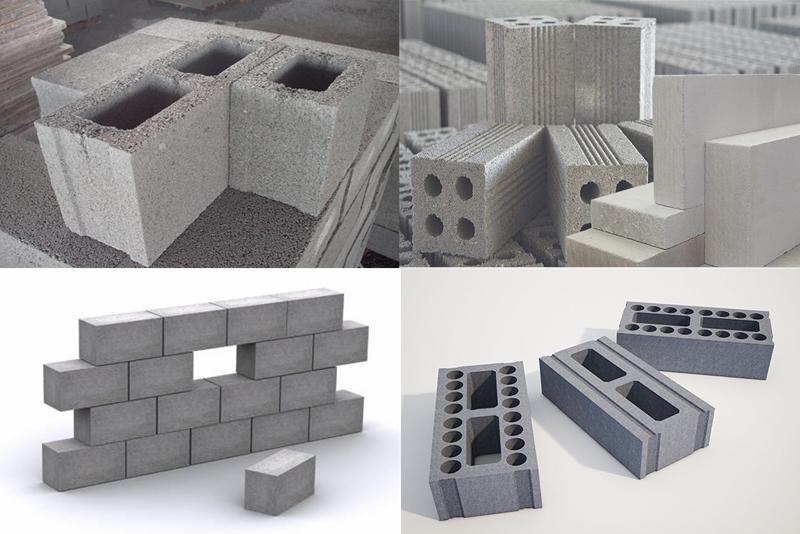 Gạch xi măng còn được gọi là gạch bê tông hay gạch không nung xi măng cốt liệu.