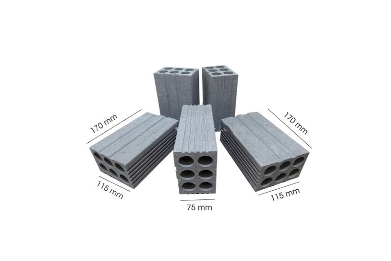gạch xi măng hay gạch bê tông cốt liệu có đa dạng các kích cỡ và chủng loại không thua kém gì gạch truyền thống