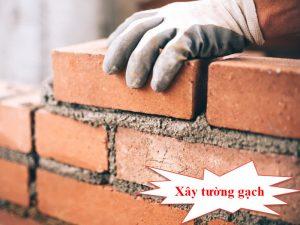 Bí quyết xây tường gạch đúng tiêu chuẩn 2021