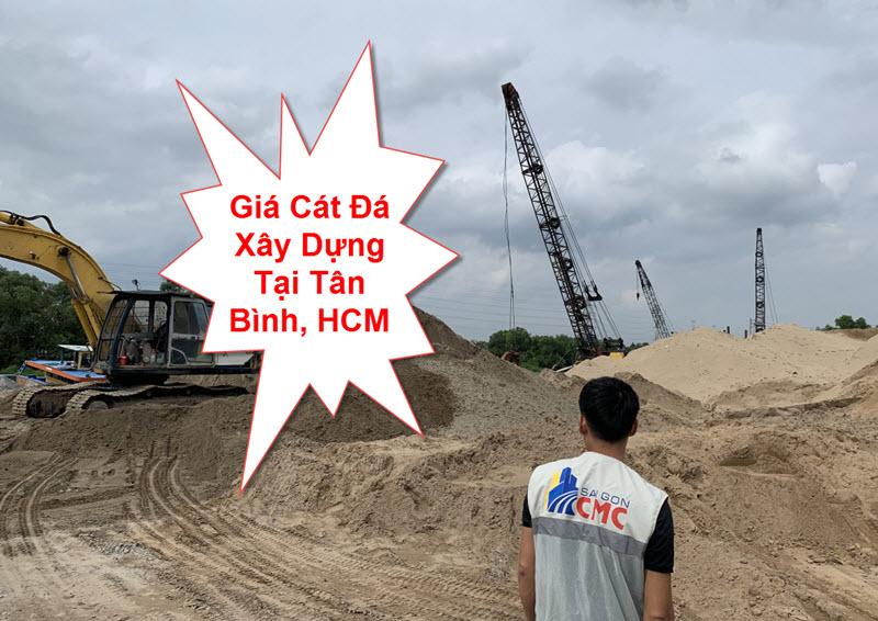 Giá cát đá xây dựng tại tân bình tphcm