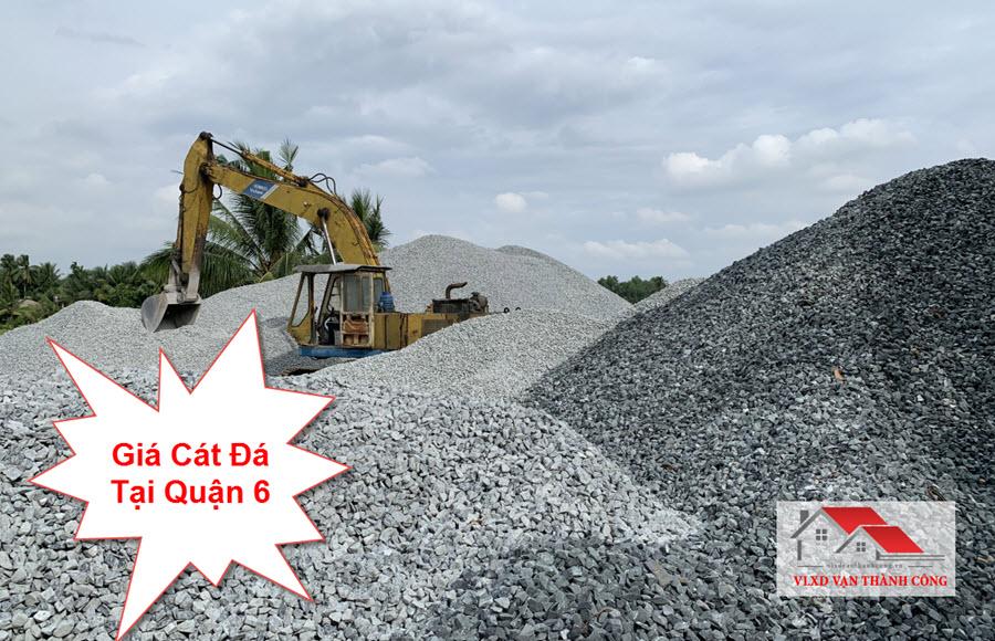 Báo giá cát đá xây dựng tại quận 6 tphcm