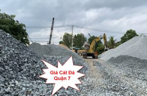 Giá cát đá xây dựng tại quận 7 tphcm